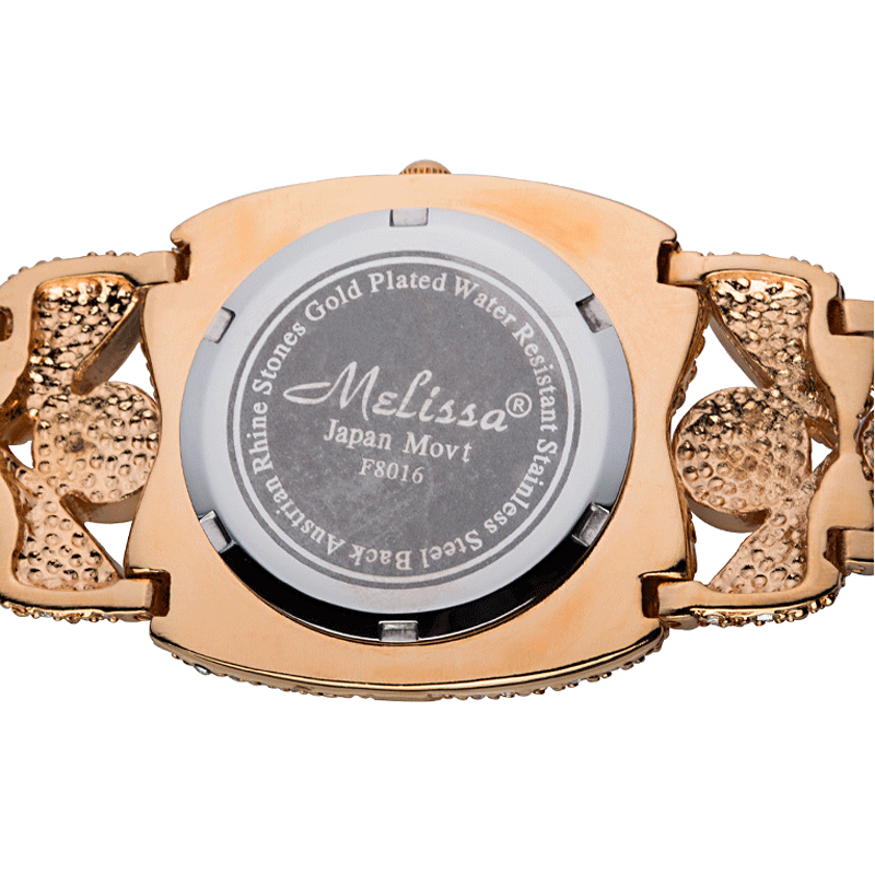 Top Melissa Dame Armbanduhr Quarz Mode Frauen Kleid Armband Strass Shell Luxus Kristall Partei Bling Mädchen Geburtstag Geschenk-in Damenuhren aus Uhren bei  Gruppe 2