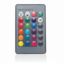 Mini 24 Keys RGB IR Wireless Remote Controller For Globe Bulbs RGB Light Lamp LED Strip Lights Without Battery