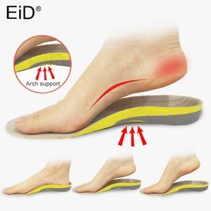 Image 4 - עיד PVC אורטופדיים מדרסים שטוח רגל בריאות בלעדי Pad עבור נעלי להכניס קשת תמיכת pad עבור plantar fasciitis רגליים טיפול