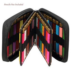 Image 3 - 150 חריצים בצבע עפרונות אוניברסלי עיפרון תיק עט מקרה כתיבה ספר PencilCase ציור ציור אחסון פאוץ קלמר