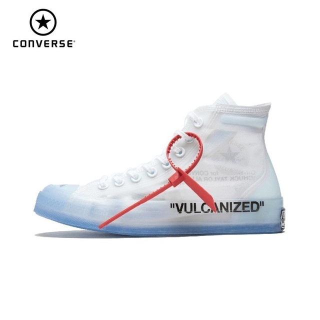 Converse Off White Ow Jointly Men And Women Skateboarding Shoes New Arrival Transparent Motion Outdoor Shoes#162204C
