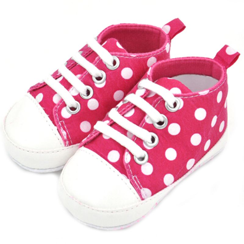 Summer Autumn Infant First Walkers Brand New Cute Infant Comfortable Toddler Baby Boy Girl Soft Shoes Sneaker Canvas shoes