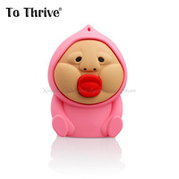 Red Lips Chubby Face Baby Power Bank 4000mAh External Battery Portable Mobile Phone Power Bank For
