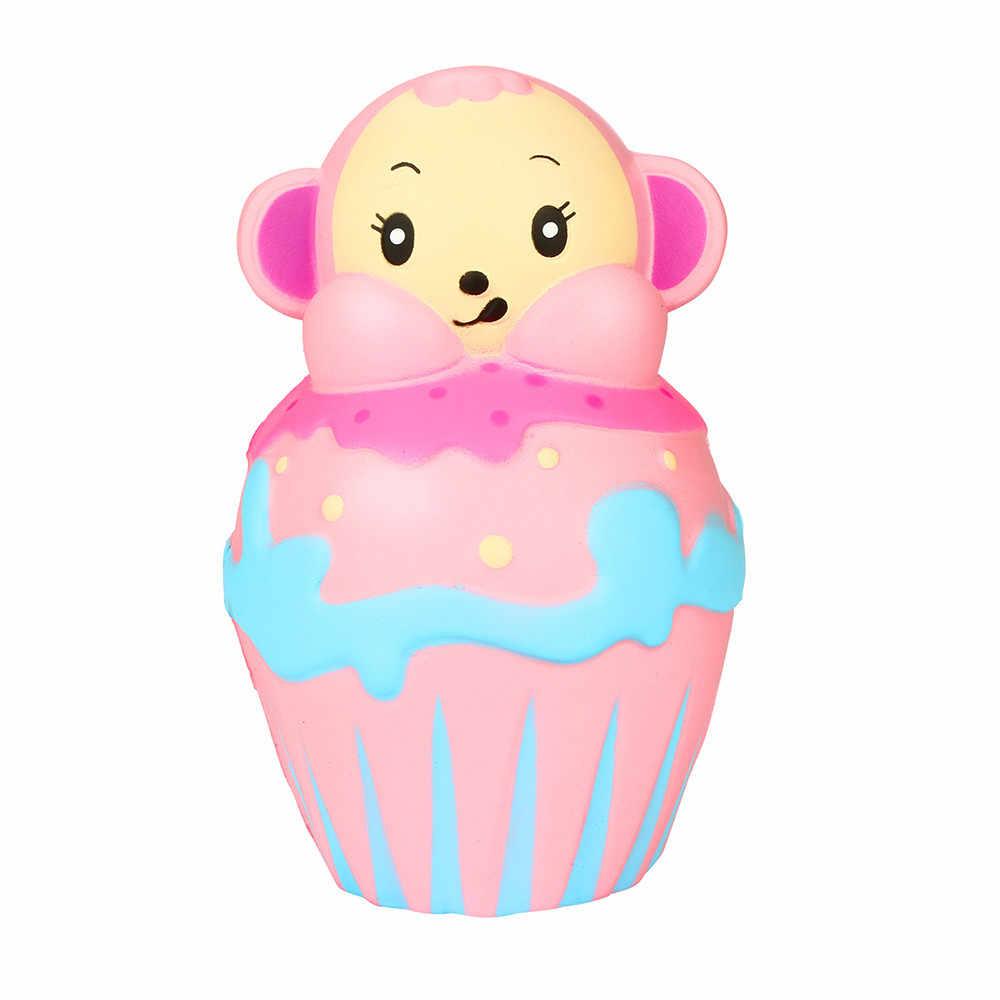Лидер продаж! Снятие Стресса розовая обезьяна Ароматические супер замедлить рост детские игрушки Симпатичные Squeeze Игрушка Прямая доставка Jan7