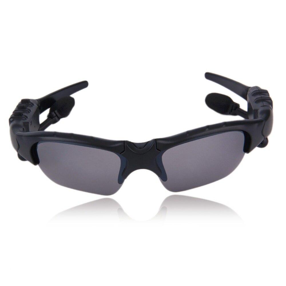 Wireless Handsfree Bluetooth 4.1 Headset Stereo Headphone Sunglasses Sports Music Driving Sun Riding Glasses ABS+PC Earphone цена и фото