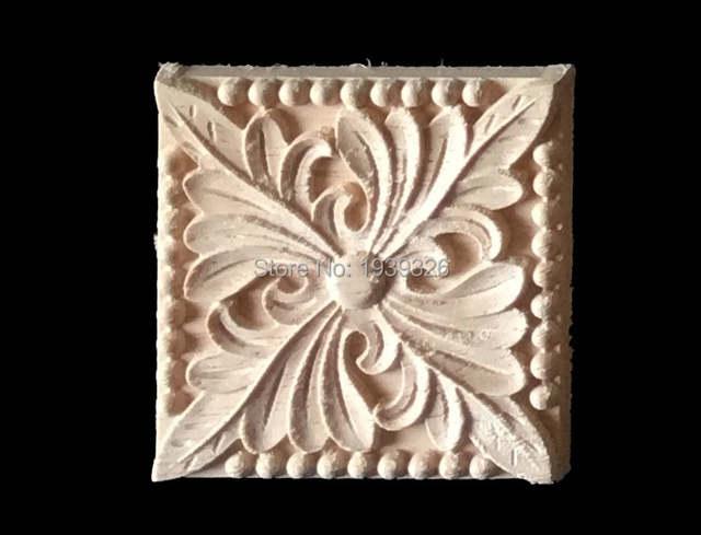 Online shop pcs wood carving applique furniture decorative