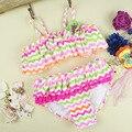 2016 Nylon Spandex Baby Girl Swimwear Bikini Swimwear QZYL013