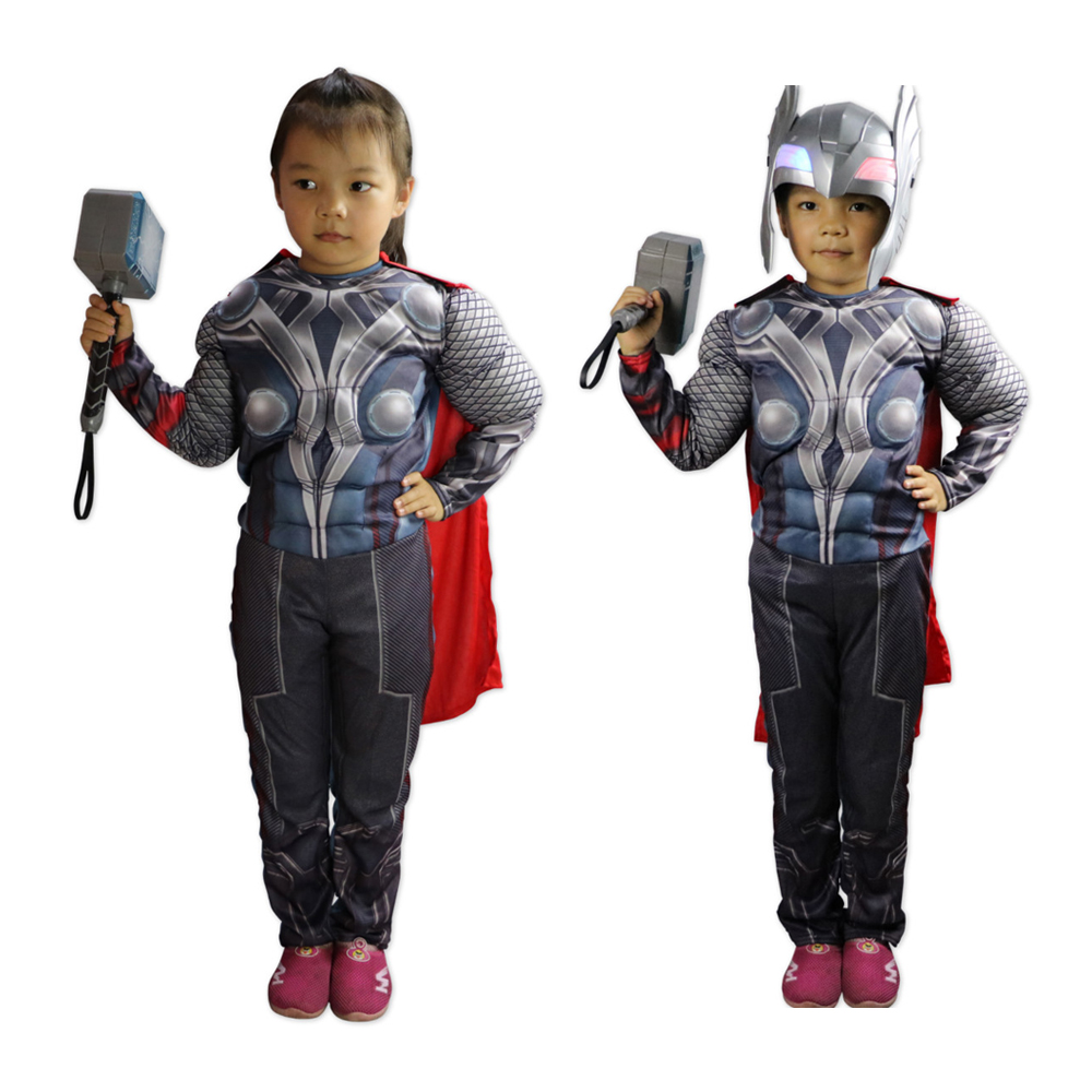 Popular Kids Thor Costume-Buy Cheap Kids Thor Costume lots from ...