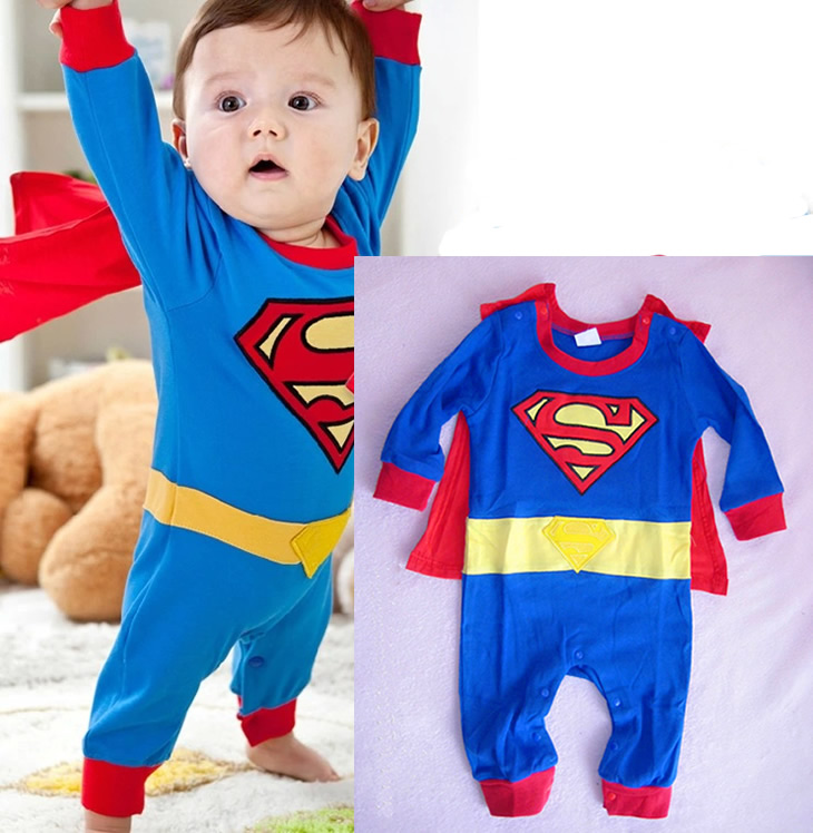 Boy Baby Clothes Ropa de Bebe Kids Toddlers Children Newborn Infant Long Sleeve Cloak Superman Romper Jumpsuit Clothes Outfit newborn baby clothes full sleeve 100% cotton ropa bebe recien nacido warm animal romper girl boy 0 2t newborn baby clothes