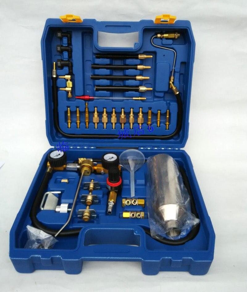 Buse de carburant de voiture accélérateur trois-en bouteille/système de carburant bouteille de nettoyage trois en un, entrée de carburant propre trois éléments catalytique