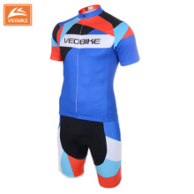 VEOBIKE 2017 Top Quality Unisex Cycling Jerseys Set Outdoor Sports Bike Clothing Skin Suit Bodysuits Ropa Ciclismo Shirts Wear