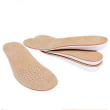 pigskin Tailoring EVA silicone male and female universal insoles  Comfortable Ventilation for men women can be cut