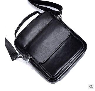 Vintage Cowhide  laeather Vertical section Shoulder Bags Men Genuine Leather Business handbag fashion casual Messenger bag women s handbag 2015 fashion vertical cowhide messenger shoulder bag viney