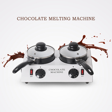 ITOP EU/US/UK Plug Chocolate Melting Machine Single 1.25kg Chocolate Pots 30~85 Degrees Electric Commercial Chocolate Melter