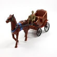 P2521 молдель нарисованные фигурки лошадь и карета ковбойские игрушки западный регион Новые