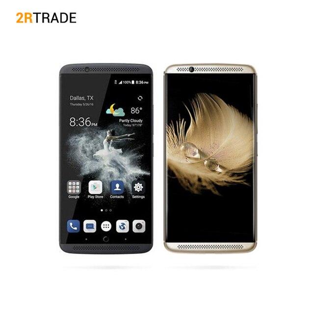 "Original ZTE Axon 7 A2017 Snapdragon 820 5.5"" 2K 2560X1440 6GB RAM 128GB ROM 20.0MP camera Fingerprint"