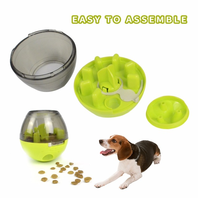 Pet Dog Toys Tumbler Leakage Ball Dog Bite Toy Removable Dogs Leakage Dispenser Chewing Products for Medium and Large Dogs 4