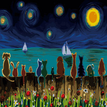 Animals Sitting Together Oil Painting By Numbers DIY Digital Picture Coloring By Numbers On Canvas Unique Gift Home Decor 2017 margaret mcdonagh brought together by baby