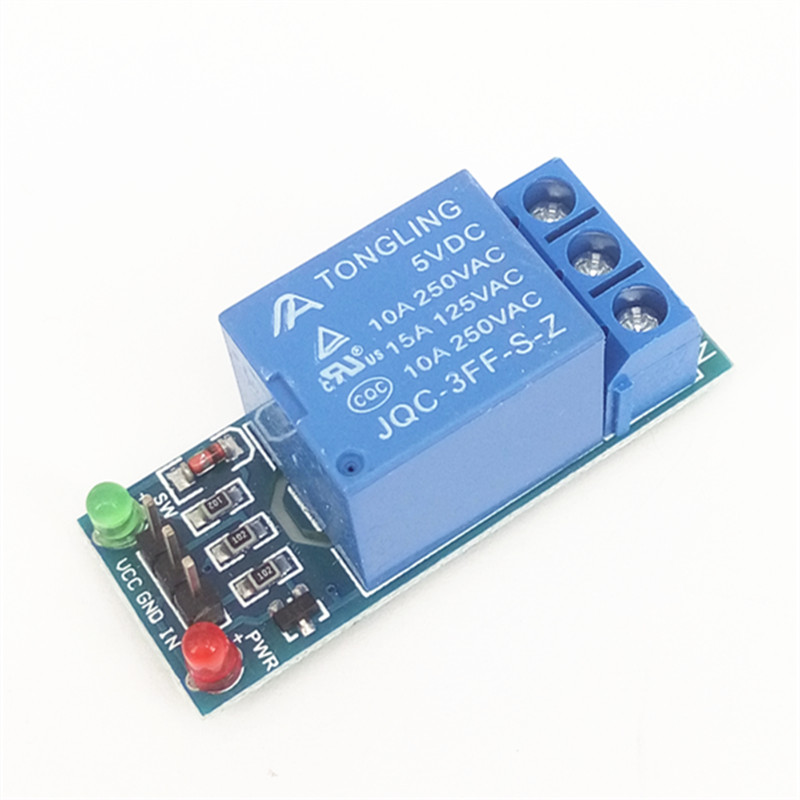 1 Channel relay module 1-Channel 5V high level trigger relay extension board 4 channel 5a high level trigger solid state relay module board 3 32v power supply and trigger voltage