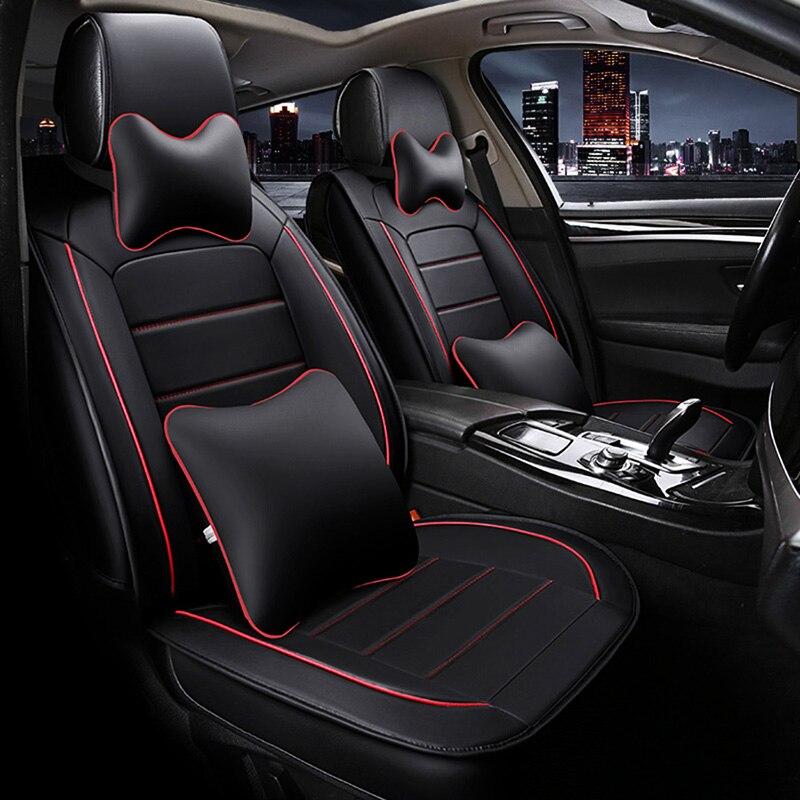 Haute qualité housse de siège de voiture En Cuir pour Toyota corolla chr auris envies aygo prius avensis camry 40 50 voiture accessoires housse de siège