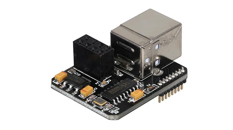 Lerdge X USB module detail 2