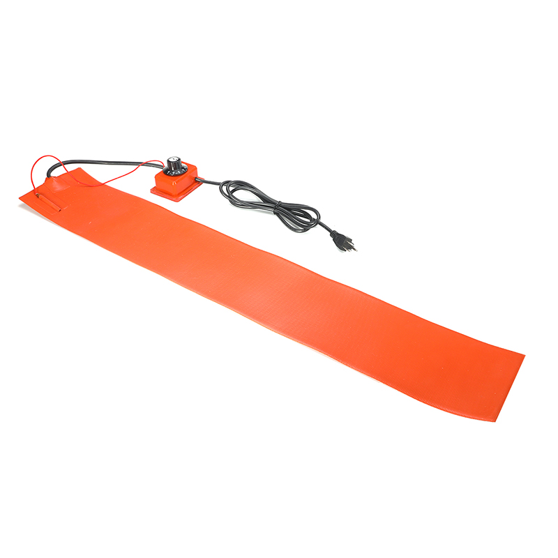 15x91 5cm 1000W 220V Silicone Rubber Heating Blanket for Guitar Side Bending With Controller