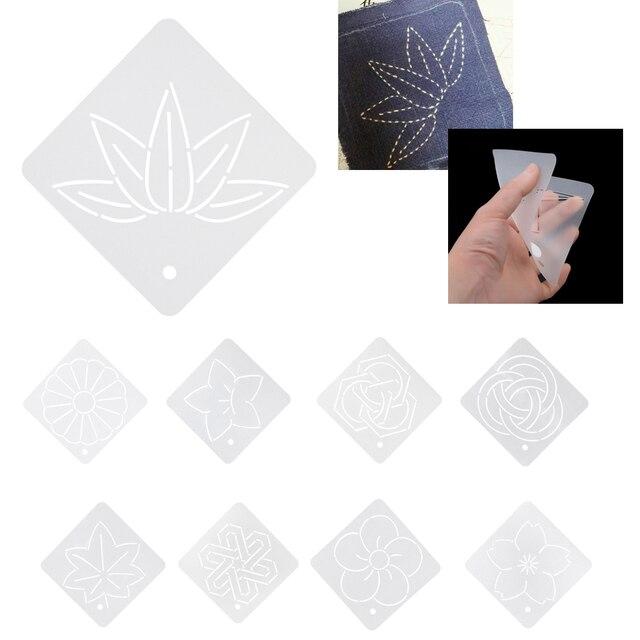Neue weicher semi transparent acryl quilt vorlage patchwork ...