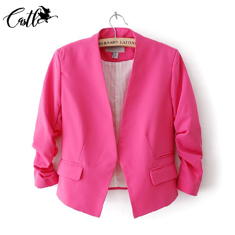 Basic Jackets Jackets & Coats Fjun New Spring Autumn Vintage Plaid Jacket Women Double Breasted Pocket Long Sleeve Streetwear Casaco Feminino Veste Femme
