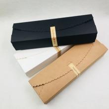 20 ชิ้น/ล็อตธรรมชาติสีน้ำตาลกระดาษคราฟท์บรรจุภัณฑ์สบู่ handmade SOAP กล่องบรรจุภัณฑ์ Wedding Favors Candy ของขวัญยาวกล่องกระดาษ