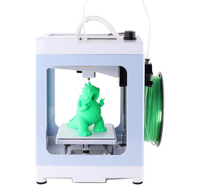 NEW DIY Kit 3D Printer 110*110*125mm Mini LCD Screen Imprimante Printer 3D Continuation Print Power Creality with FREE Filament