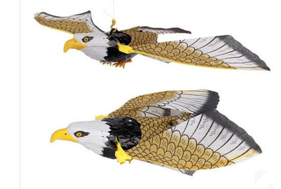 Nouveauté Flash Simulation Électrique Flying Eagle Bird Rotation - Jouets électroniques - Photo 3