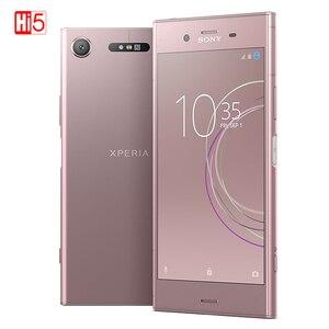 Image 2 - סמארטפון מקורי Sony X peria XZ1 G8342/G8341 64G ROM 4G RAM 19MP אוקטה Core NFC אנדרואיד 7.1 טלפון נייד 2700mAh אנדרואיד
