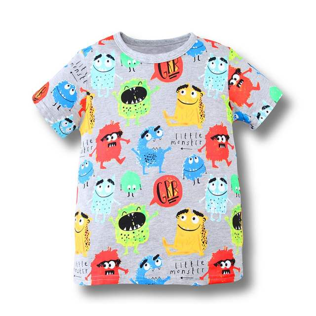 0264d491e497b Online Shop Jumping Meters Boys Clothing Kids T shirts 2018 Brand Baby Boys  Summer Tops Animal Print Cotton Tee shirt Fille Children Clothes |  Aliexpress ...