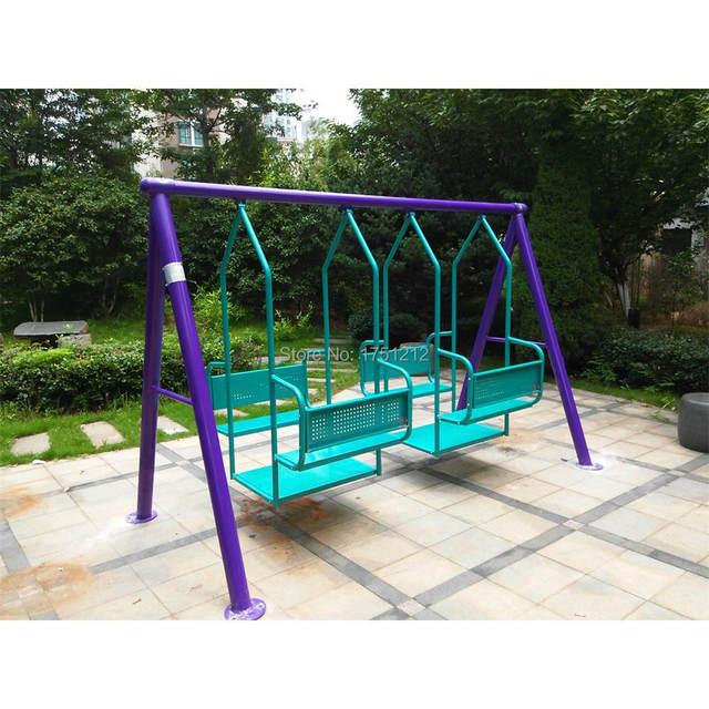 Tienda Online Acero galvanizado niños columpio al aire libre ...