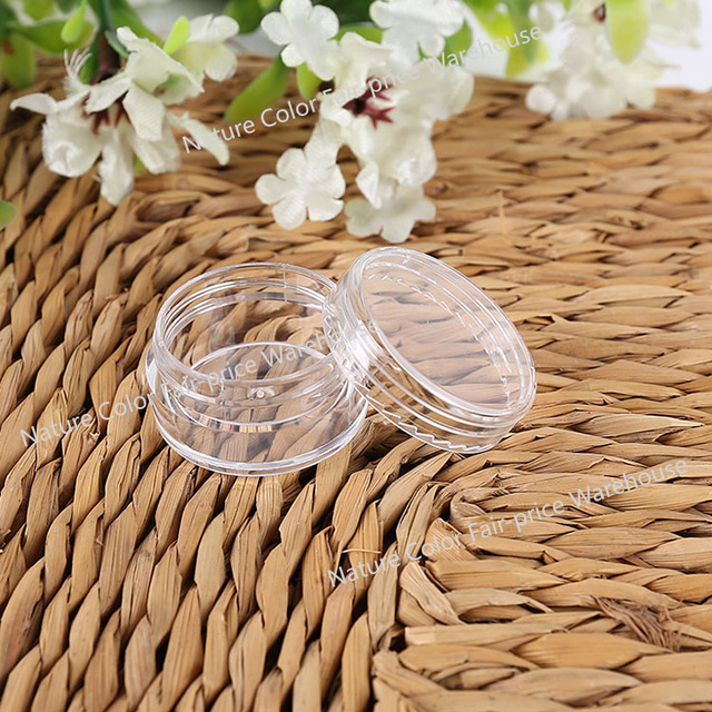 10pcs Empty Jars Refillable Bottles Cosmetic Jars Makeup Container Small Round Bottle Little Cream Jar Series Perfume Gel Pack