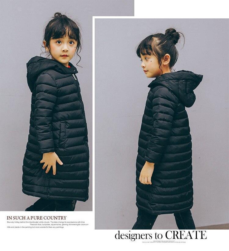 c03e512b7326 Kinder Jungen Mädchen Jacken Herbst Winter Unten Mantel Baby Warme ...