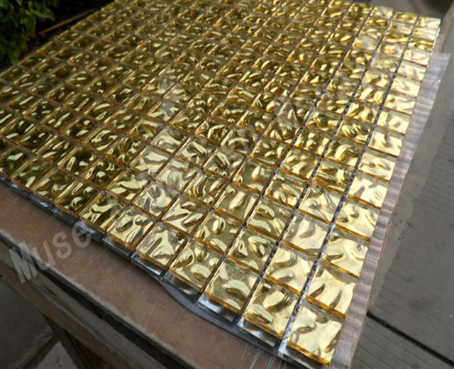 Glasmozaiek Voor Badkamer : Glasmozaïek akali weerstand folie mozaïek rood goud zilver kleur