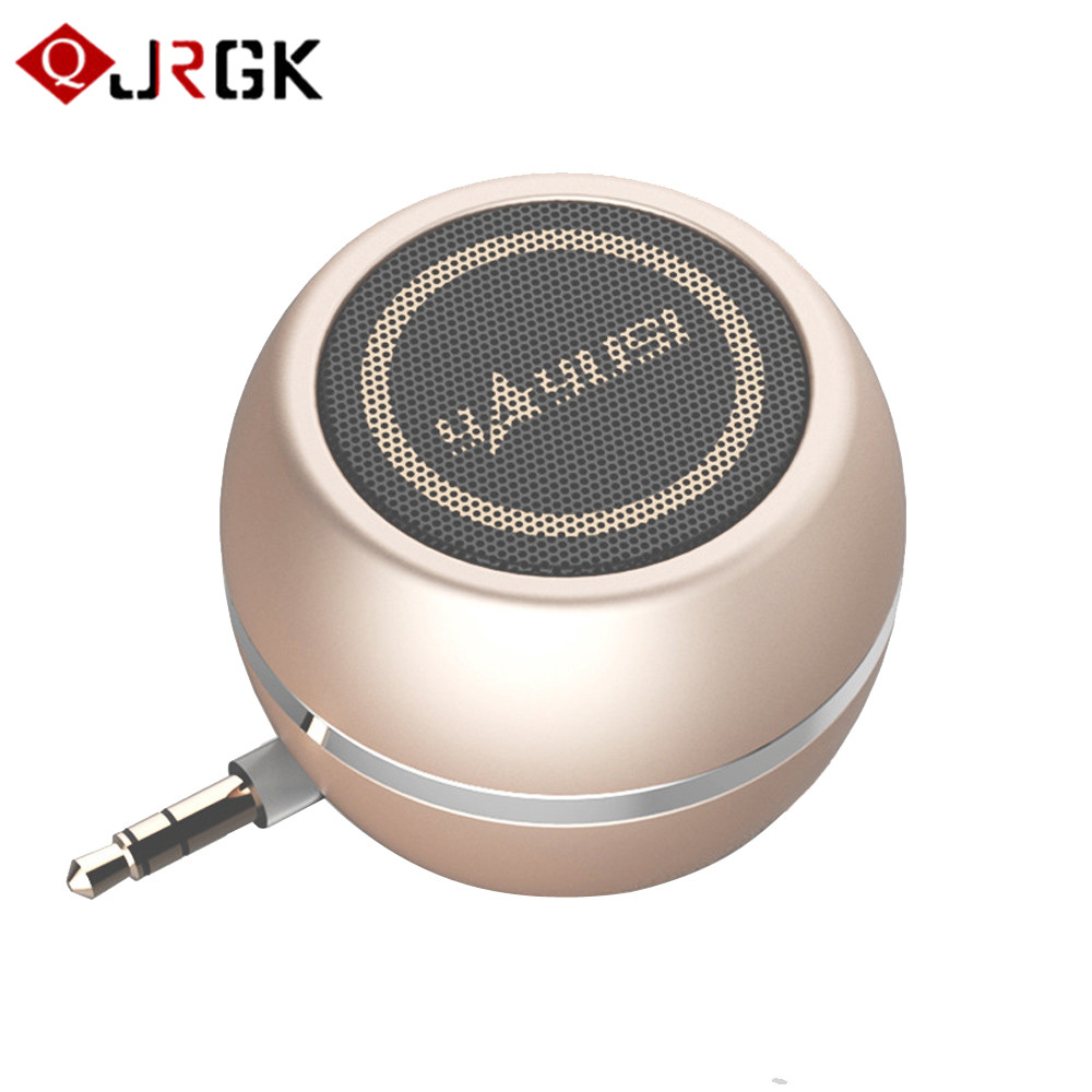 JRGK mini speaker AUX Wired speaker for pc 3.5MM audio jack portable speaker boombox computer speakers MP3 WMA For iPhone xiaomi
