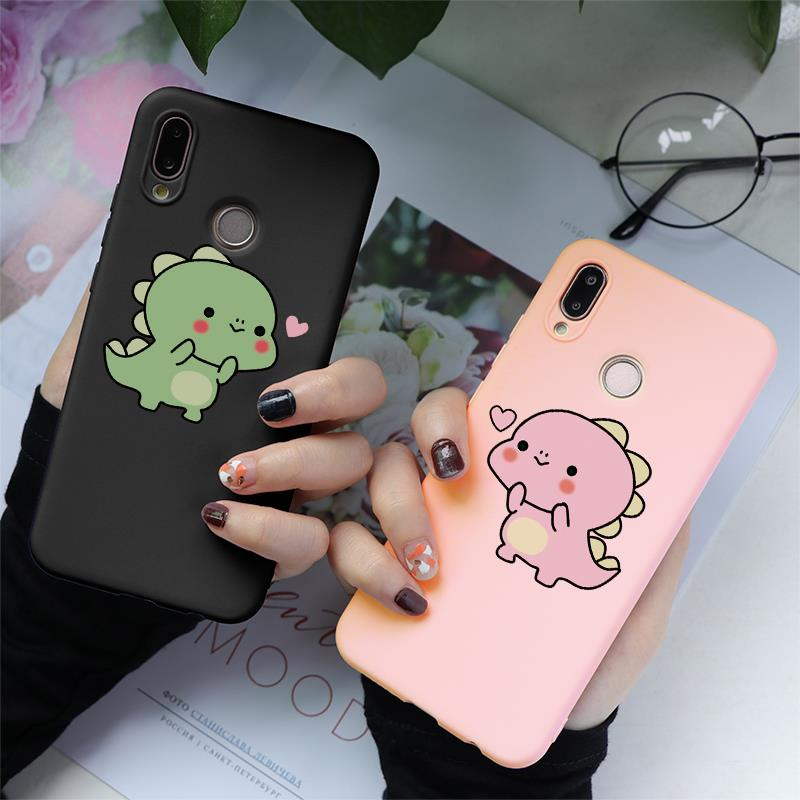 Cartoon Soft TPU Case Cover For Huawei Honor 8X 7X 7A 8 9 10 View 20 Play Mate 20 10 P30 P10 P20 Pro Lite 2017 P Smart 2019 Case