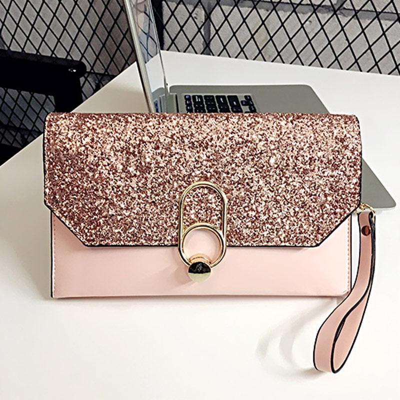 1 Stücke Frauen Dame Mädchen Handtasche Brieftasche Tasche Luxus Pu Mode Für Handy Geld Lt88 Duftendes Aroma