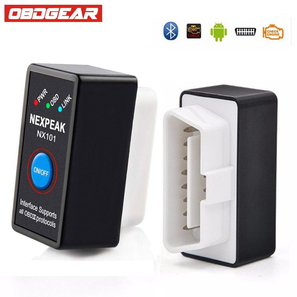 Eml327 V1.5 ODB2 OBD 2 Diagnostic Tool Mini EML327 OBD2 Bluetooth Adapter OBD OBD2 Scanner For Android Torque Code Reader