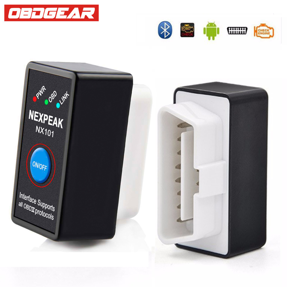 OBD OBD2 Bluetooth Adapter ELM327 V1.5 OBD 2 Bluetooth Diagnostic Tool For Android Torque ELM-327 Car V1.5  ODB2 Autoscanner