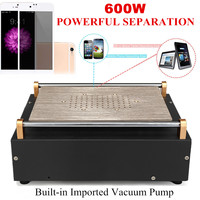 10inch 100V 220V US Auto Heating Metal Doersupp Screen Separator Plate Built in Imported Suction Pump LED Display Anti Static