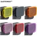 Accesorios gopro hero 5 easttowest buceo filtros de la lente para gopro hero 5 negro
