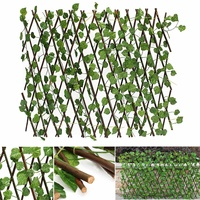 70cm Artificial Plants Decor Extension Garden Yard Artificial Ivy Leaf Fence Fake Leaves Branch Green Net for Home Wall Garden
