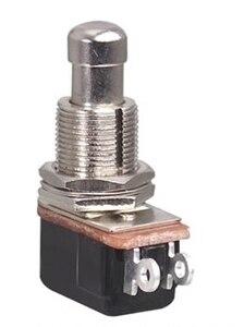 2 контакта Выкл-(ВКЛ) Мягкий сенсорный SPST Мгновенный кнопочный переключатель/Электрический ножной педаль переключатель для электрогитары