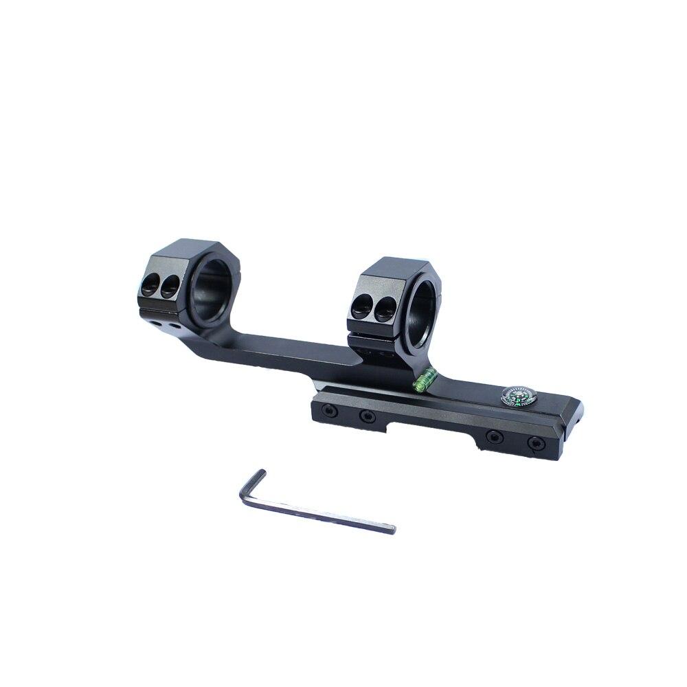 Tactique Double Anneau lunettes de Visée Mont Dur Duty 25mm/30mm Rail Mount adapte 20mm Picatinny Rail