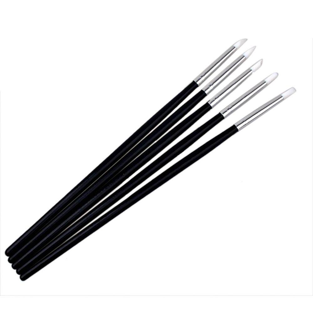 Professional Painting Tips: 5Pcs Nail Art Decorations Brush Set Tools Professional