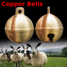 Cow Sheep Horse Copper Bells Grazing Bells Upgraded Livestock Animal Husbandry Copper Bell Sound Loud Cow Copper Bell