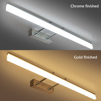 Acrylic LED Wall Light Bathroom Mirror Front Light LED Lustres Modern Sconce Wall Lamp Bathroom Lighting